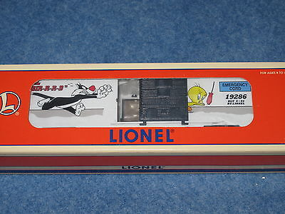 1996 Lionel 6-19286 Sylvester & Tweety Box Car L1435