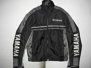 adulte adolescent moto paddock veste yamaha noir gris taille xxs ebay. Black Bedroom Furniture Sets. Home Design Ideas