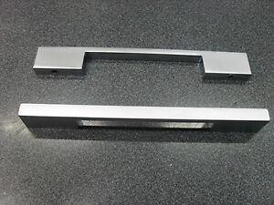 maniglia mm128 colore cromo opaco per mobili moderni cucina ... - Maniglie Per Mobili Moderni