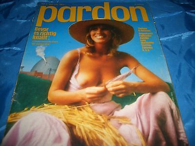 PARDON / Heft 4 /  1976  / PARODIE / SATIRE / ohne Comic Strips  / alte Reklame
