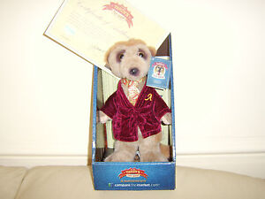 Aleksandr Official Compare The Market Meerkat Soft Toy with Certificate New