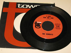 ROCK-ROLL-45RPM-RECORD-THE-SUNRAYS-TOWER-148