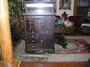 antique-mahogany-signed-dental-cabinet-all-original-and-almost-perfect