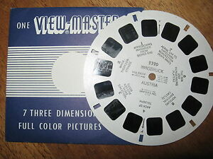 1-Vintage-Saywers-Viewmaster-Reel-INNSBRUCK-AUSTRIA-1956-7-3D-Colour-Pictures