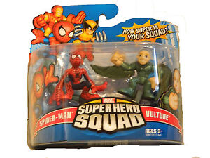MARVEL SUPER HERO SQUAD FIGURES TWIN 2 PACK. BNIB. 18 TO CHOOSE FROM. Age 4+.
