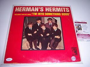 PETER-NOONE-HERMANS-HERMITS-JSA-COA-SIGNED-LP-RECORD-ALBUM