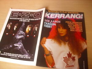 KERRANG-Great-Classic-Rock-Heavy-Metal-magazine-145