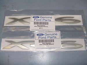 FORD-BA-BF-XR6-DECALS-2-X-XR6-SIDE-SKIRT-BADGES-NEW-GENUINE-FORD-PART