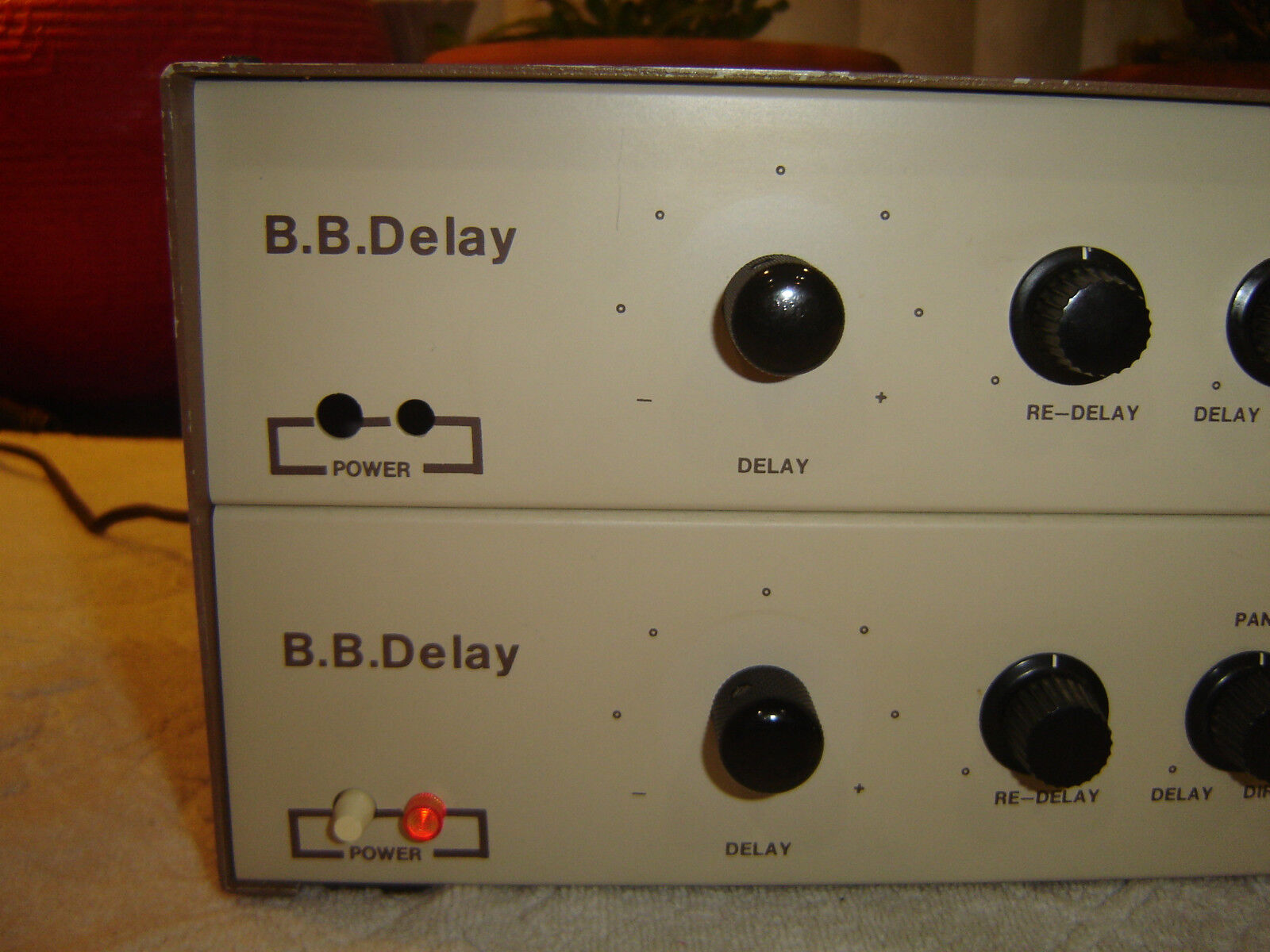 BB Delay, Pair of Stereo Analog Delay Units, Vintage