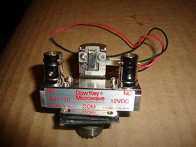 Dow Key Microwave 12Vdc Antenna Coaxial Relay With So 239   Bnc Connectors