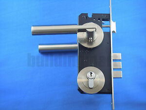 Entrance door mortise lock set & handles (2135)