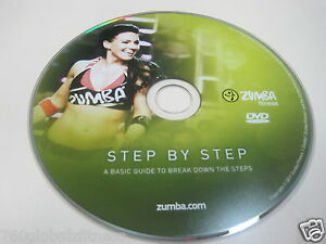 zumba fitness step by step workout dvd from the exhilarate dvds set ebay. Black Bedroom Furniture Sets. Home Design Ideas