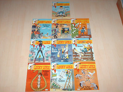 Comics 10 Lucky Luke Bände Band 80, 81, 82, 83, 84, 85 , 86, 87, 88 & 89 1A!!!