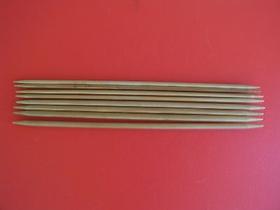 Bamboo Double Point Knitting Needles,sizes 6 & 9(4.0 & 5.5 Mm), 10, 2 Sets Of 4
