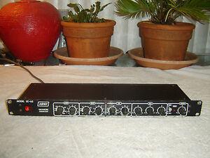 Ashly-SC-63-Blackface-Version-Parametric-Equalizer-Vintage-Rack-Repair-As-Is