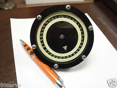 Synchro Receiver Dial Assy. 0-360 Deg. Type 15tr4c 115vac90vac  400hz.