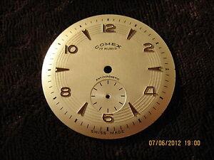 Beautiful Comex Antimagnetic wristwatch dial,NOS,40-50 years/XX century,33,8mm - <span itemprop=availableAtOrFrom>Bialystok, Polska</span> - Beautiful Comex Antimagnetic wristwatch dial,NOS,40-50 years/XX century,33,8mm - Bialystok, Polska