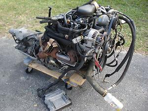V6 4 3 Vortec Chevy S10 Engine Transmission Blazer Truck ...