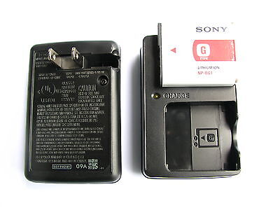AC Wall Battery Charger For SONY CyberShot DSC-W90 DSC-W80 DSC-W70 Camera NP-BG1