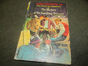 Three-3-Investigators-5-THE-MYSTERY-OF-THE-VANISHING-TREASURE-HB-66-HC-RARE