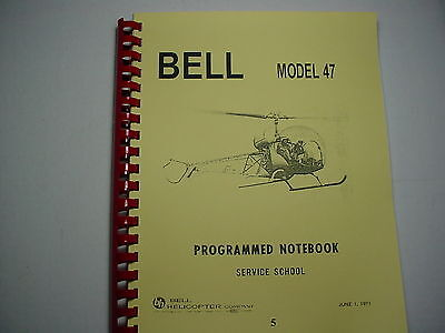 BELL HELICOPTER 47G PILOTS TRAINING MANUAL  5