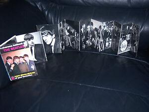 THE-BEATLES-ORIGINAL-PIXERAMA-12-FOLD-OUT-PICTURE-BOOK-FULL-GLOSS-GENUINE-1963