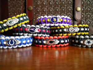 NFL-Paracord-Bracelet-Custom-Made-to-Order-Football-Paracord-Bracelet