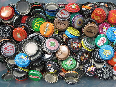 """""""100"""" Soda Bottle Crown Caps.""""Uncrimped""""  Listing in Soda/Beer category"""