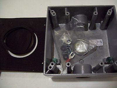 Est Edwards 499 Surface Weatherproof Back Box