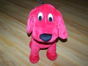 12-Kohls-Cares-for-Kids-Clifford-the-Big-Red-Dog-Plush-Stuffed-Animal-Puppy-EUC
