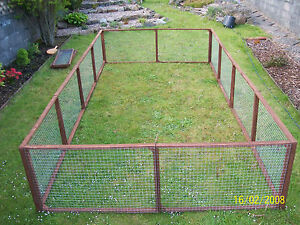 10 aviary panels run kennel Chicken Ducklings Rabbits Guinea  Bird Cat Dog pets