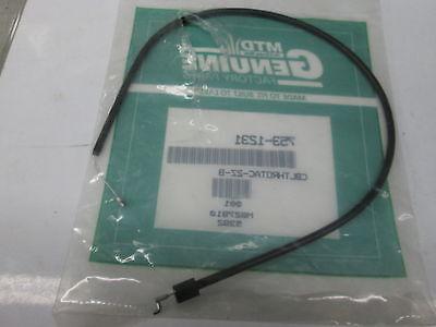 Mtd,troybilt,ryobi Throttle Cable Part 753-1231