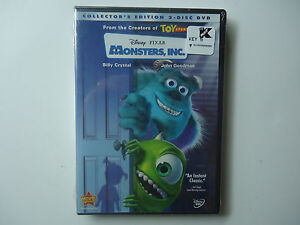 Monsters-Inc-DVD-2002-2-Disc-Set-Collectors-Edition-Brand ...