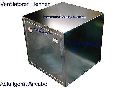 Abluft Gerät / Airbox mit starkem Ventilator 3350 m³/h Lüftung Lüfter Box Kiste