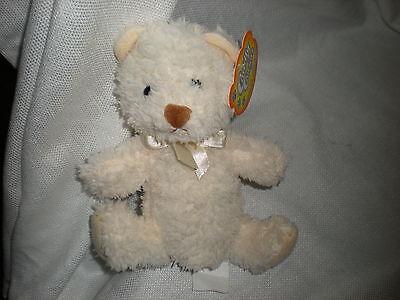 Greenbrier International Cream Lovey Teddy Bear 8 Plush