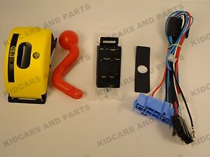 peg perego deere gator hlr 6 pin shifter and wiring harness