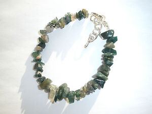 HAND MADE * YOU CHOOSE * GEMSTONE HEALING CRYSTAL CHIP BRACELET JEWELLERY GIFT