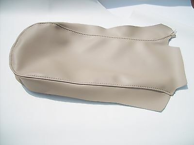 1997 To 2001 Ford Explorer Tan Console Storage Armrest Top Stitch Cover