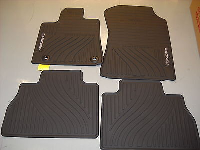 2012 2013 Toyota Tundra 4 pc All Weather Floor Mats, OEM  PT908-34121-20