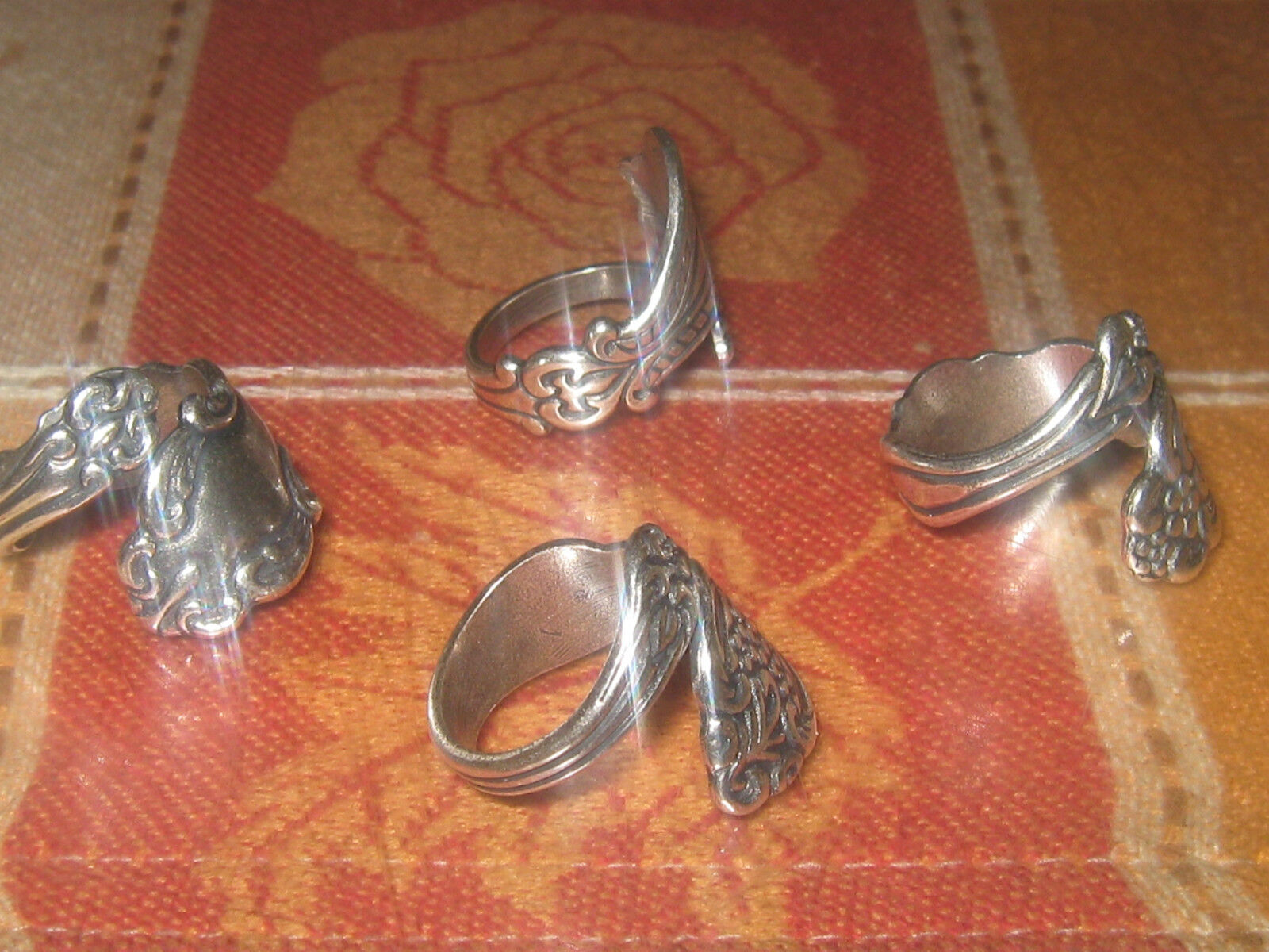 wholesale lot 4 rings vintage ... Image 2