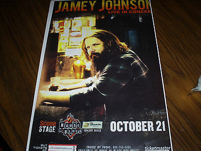 jamey johnson  concert poster on Rummage