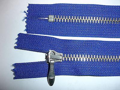 RV 317 - Reißverschluß blau opti 17 cm lang 2 Stück
