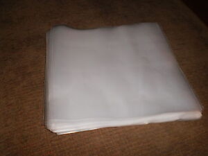 100-Vinyl-Record-Outer-Sleeves-7-LP-Album-Plastic-Covers