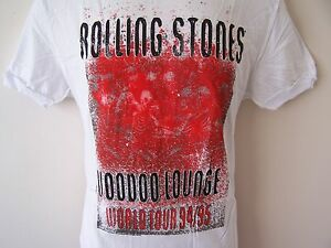 NEW-TAGGED-AMPLIFIED-ROLLING-STONES-VOODOO-LOUNGE-WHITE-MENS-T-SHIRT-S-M-L-XL