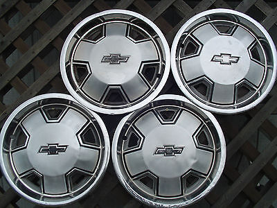CHEVY CHEVROLET S 10 BLAZER MALIBU PICKUP TRUCK HUBCAPS WHEEL COVERS  14 IN.