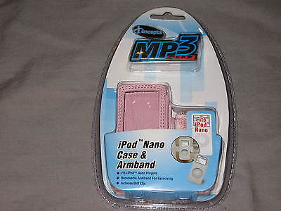 Iconcepts Ipod Nano Case Mp3 Gear Pink Music Songs Armband