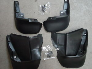 96 97 98 HONDA CIVIC 4DR & 2DR COUPE MUD SPLASH GUARDS FLAPS GENUINE FACTORY OEM