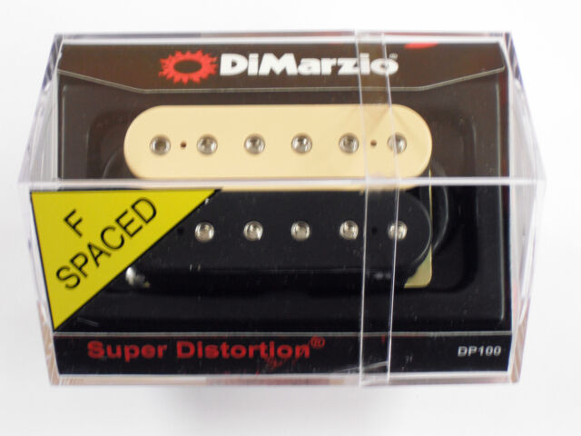 DiMarzio DP100 Super Distortion Pickup Black and Cream F-Space | eBay