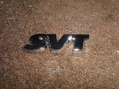 1993 1994 1995 Ford Lightning Svt Tailgate Rear Body Panel Emblem Chrome Svt