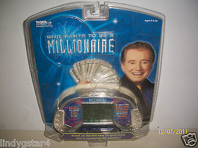 Handheld Game, Who Wants To Be A Millionaire, Tiger Electronics, Tv Quiz Show